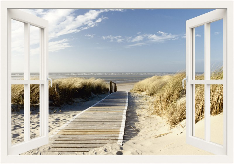 eva gruendemann fensterblick nordseestrand auf langeoog. Black Bedroom Furniture Sets. Home Design Ideas